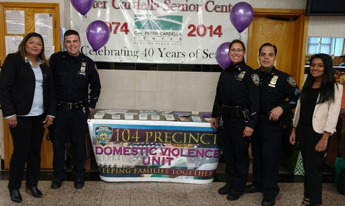 LifeWay Network with members of NYPD 104th Precinct Domestic Violence Unit