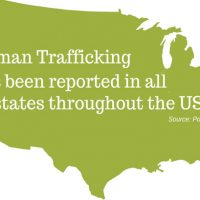 Human Trafficking has been reported in every state in the US